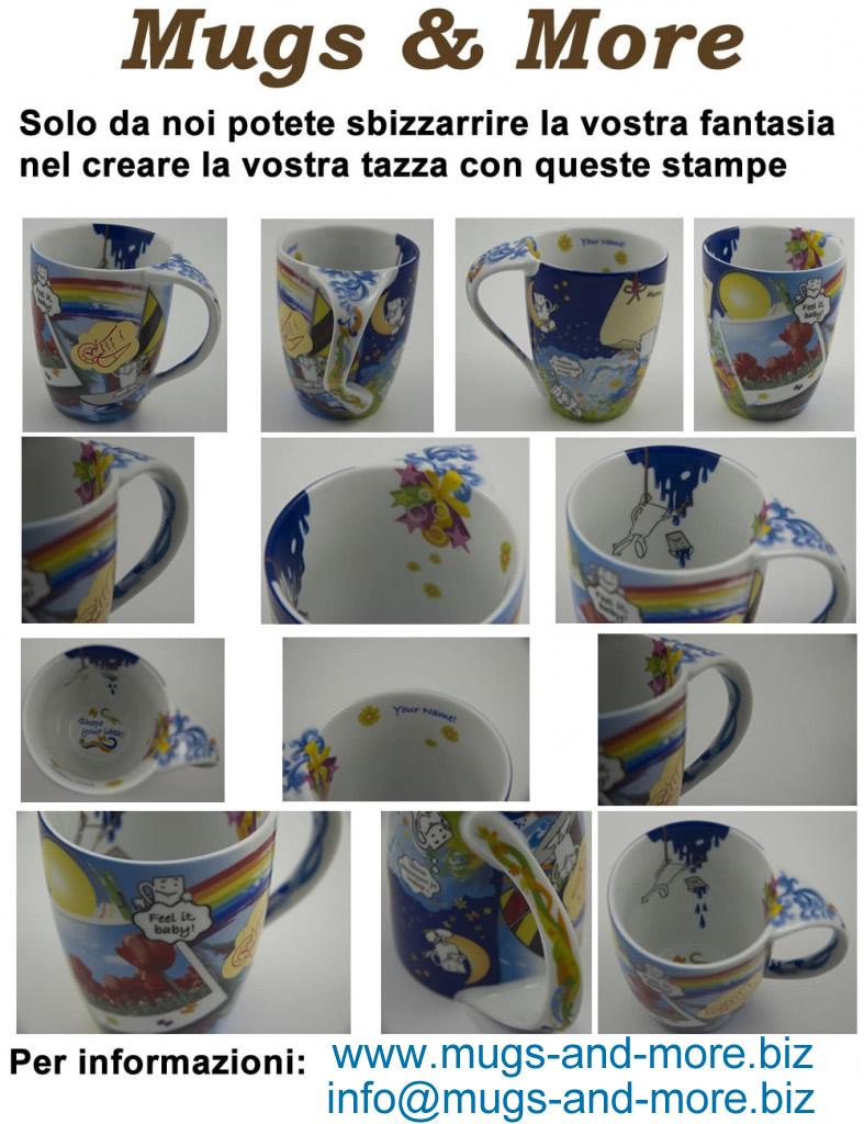 Stampa tazze e mugs