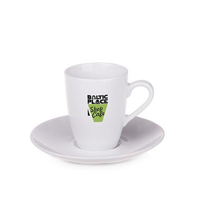 Tazzine caffè bianche