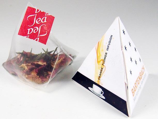 Bustine Piramide di Tè personalizzate